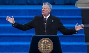 New York City De Blasio